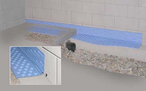 Concrete Basement Waterproofing